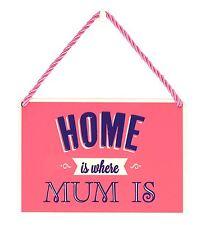 Hang-Ups placas-el hogar es donde está mamá