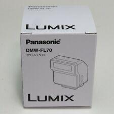 Panasonic DMW-FL70-K Flash light for LUMIX DMC-LX100 / DMC-GM5 from Japan