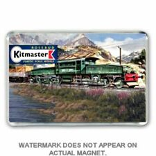 RETRO  KITMASTER SWISS CROCODILE  KIT BOX ARTWORK JUMBO Fridge / Locker Magnet