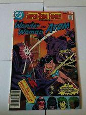 Super-Team Family #14 Wonder Woman Secret Society Of Super Villains Atom 1978