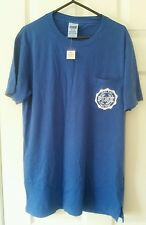 BNWT Victoria's Secret Love Rosa Azul Camiseta Camiseta XS campus de Bolsillo UK 6-8