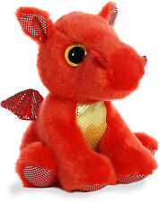 "Aurora - Sparkle Tales - 7"" Flame Red Dragon"