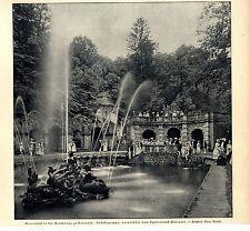 Gartenfest Eremitage Baireuth Rokokogruppe des Turnerbundes Baireuth c.1905