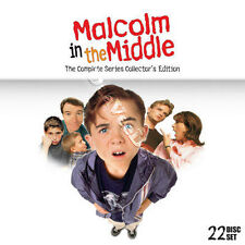 Malcolm in the Middle - Complete Series NEW PAL Cult 22-DVD Set & Bonus T-Shirt
