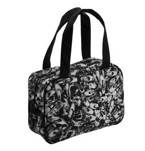 Black and White so danca pointe shoe motif dance bag