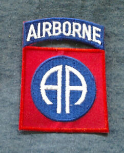 """82nd AIRBORNE DIVISION (3"""") US ARMY Military Patch PM0020 EE"""