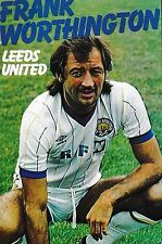 Football Photo>FRANK WORTHINGTON Leeds United 1982-83
