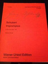 Schubert: Klaviernoten-Impromptus D935/op.142 - Wiener Urtext-FREE SH. USA!