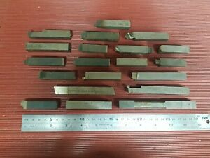 Lathe Tools, Tool Steel - Job lot of 20