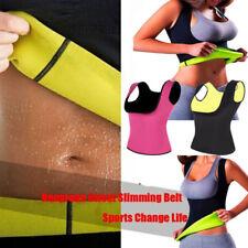 Women Slimming Vest Body Shaper Shirt for Weight Loss Neoprene Sweat Fat Burner