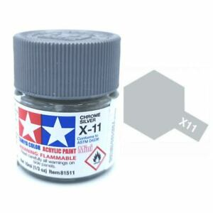 Tamiya X-11 - Chrome argenté brillant (10ml)