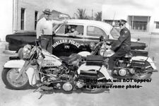Harley Davidson Motorcycle Cops PHOTO Police Motor Units Bikes