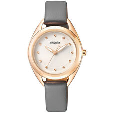 OROLOGIO VAGARY BY CITIZEN FLAIR ACCIAIO IP ROSE GOLD PELLE GREY IK7-490-10 € 75