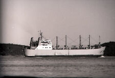 Freighter 'Passat' - Vintage B&W 35mm Ship Negative