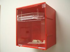 6 off Fischer Plastic Products Visi Pak Modular Storage System Large 1H-042 RED