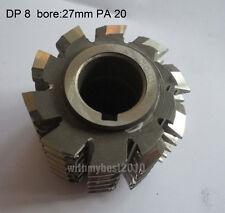 New Gear Hob Cutter DP 8 Hss(M2) Bore 27mm Pressure Angle 20 degree Accuracy A