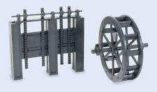 Wills SS84 - Water Wheel & Sluce 1/76 Scale = 00 Gauge Plastic Lineside Kit 1stP