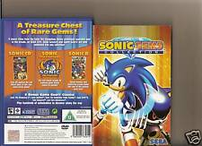 SONIC GEMS COLLECTION PLAYSTATION 2 PS2 9 GAMES PS 2