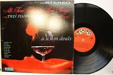 "All Time Favorite Love Songs-Twin Pianos and Organ, LP Vinyl 12""(VG)"