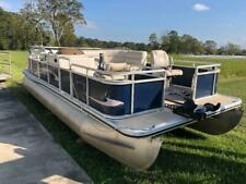 2010 CYPRESS CAY PONTOON BOAT WITH 50HP MERCURY OUTBOARD MOTOR