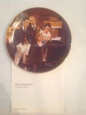New ListingClose Harmony Norman Rockwell Plate By Knowles Light Campaign #5