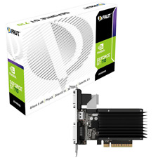 SCHEDA VIDEO VGA Palit GeForce GT 710 2GB GDDR3 passiv LP NEAT7100HD46H