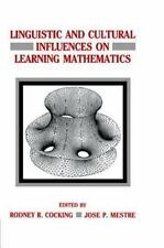Linguistic and Cultural Influences on Learning Mathematics (Psychology of Educat