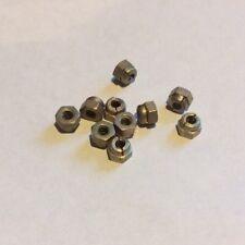 NOS 6BA Steel All-metal Stiff Nut AGS2001/A1-66 qty 10 (J)