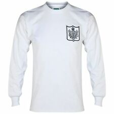 Maillots de football blanc manches longues