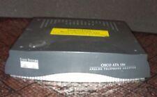 CISCO SYSTEMS ATA 186 ANALOG TELEPHONE ADAPTOR