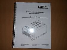 TRACE ENGINEERING SW SERIES INVERTER/CHARGER MANUAL