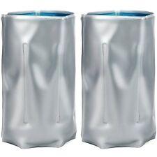 2x Flaschenkühler, Kühlmanschette mit Klettverschluss zum Kühlen von Flaschen
