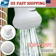 Ridgeyard Instant Hot Water Heater Electric Shower Head Water Boiler 5400W 110V