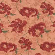"""Moda Lilies Of The Field Peony Pink 100% Cotton Quilting Fabric 44"""" Wide SBY"""