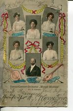 Vor 1914 Sammler Motiv-Ansichtskarten mit dem Thema Musik
