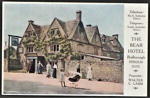 STROUD, GLOUCESTER postcard The Bear Hotel