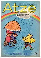 DDR ATZE Heft 5/1978 FDJ Verlag Junge Welt Fix und Fax *AZ74