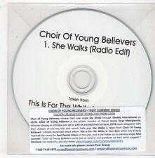 (GX772) Choir Of Young Believers, She Walks - DJ CD