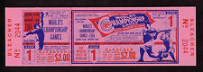 1964 WORLD SERIES GAME 1 FULL TICKET STUB CARDINALS YANKEES