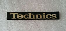 Technics sl 1200 Gld, Ltd. Rare Genuine gold sticker. Free shipping