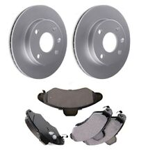 Front Brake Discs and Pads Set Fit Ford Escort Mk VII Convertible 1.8 TD 1997-99