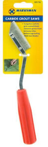 Heavy Duty Tile Grout Saw Rake Remover Tungsten Carbide Floor Wall File Tool