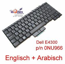 KEYBOARD TASTATUR DELL LATITUDE E4300 ESD84 0NU966 NSK-DG00A ENGLISH ARAB  - 2