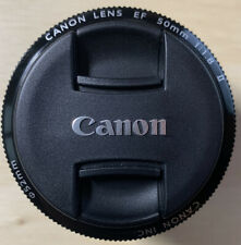 Canon Standard EF 50mm F 1.8 II Auto Focus Lens 52mm Filter Thread