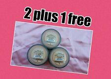 2 PACK PLUS 1 FREE Bare Minerals Escentuals SPF 15 MEDIUM BEIGE - N20 8g XL