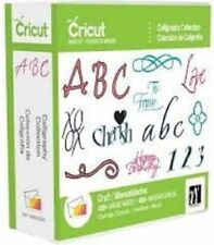 Cricut Cartridge CALLIGRAPHY COLLECTION  450 Images. RARE. FREE SHIPPING