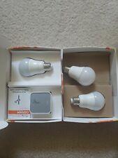 3 Sylvania Osram Lightify white light hue smart bulb + Zigbee hub google Phillip
