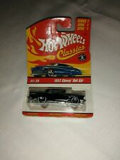 Hot Wheels Classics Series 1 - 1/64 Scale - 1957 Chevy BelAir - On Card