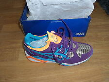 ASICS vintage MEN'S GEL-KAYANO TRAINER PURPLE ATOMIC BLUE H5E2Y-3338 EUR 42,5