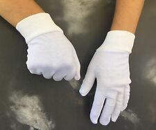1 x pair   White Cotton  25 cm  long - under boxing Gloves top quality